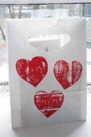 Valentinstagsverpackung
