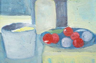 Still Life with Cherries
