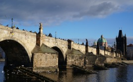 Charles Bridge in Bright Daylight