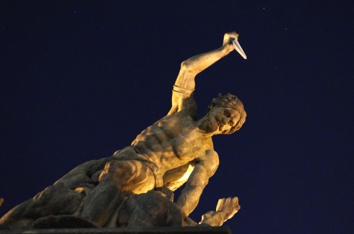 Statue at Night
