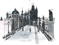 Charles Bridge in the Morning
