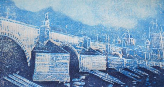Print of Charles Bridge