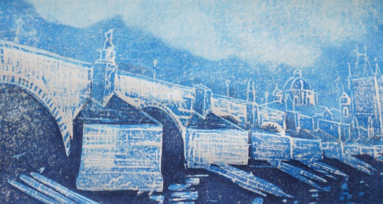 Print of Charles Bridge