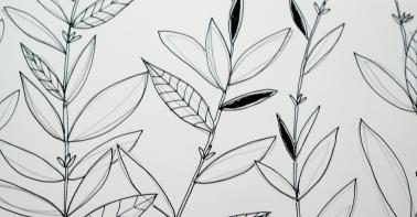 Zeichnung für Schablone