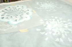 Printing with Stencil