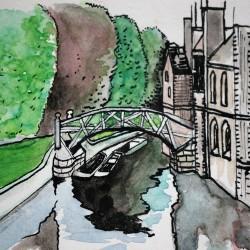 Zeichnung Cambridge