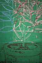 Collage Topfpflanze