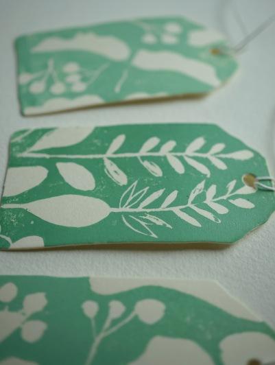 Geschenanhänger grün 3