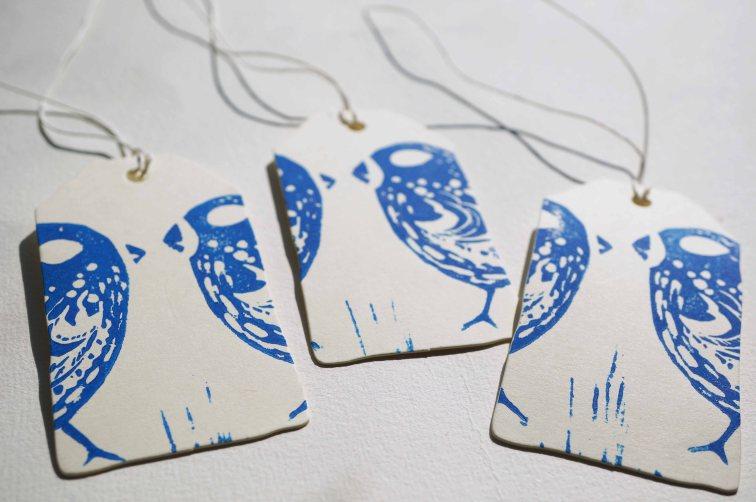 Geschenkanhänger Love Birds 2