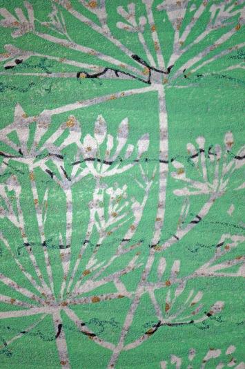 Grüne Collage