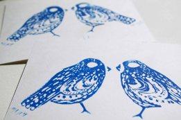 Karten Love Birds 2