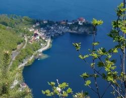 View on Village Traunkirchen