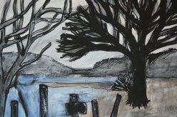 Drawing Loch Lomond