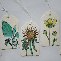 Geschenkanhänger Pflanzen