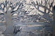 Woodcut Loch Lomond