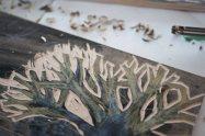 Woodcut Printing Plate 2