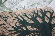 Woodcut Printing Plate