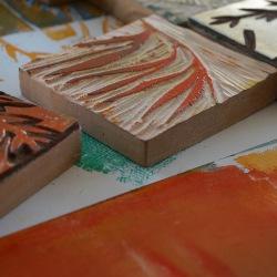 Textildruck Stempel