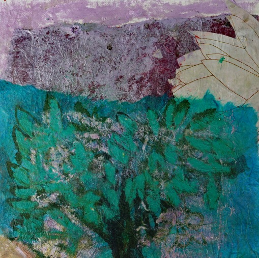 Collage Bäume