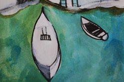 Zeichnung Boote