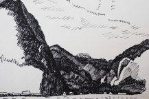 Zeichnung Hallstättersee