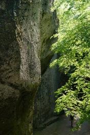 Steintheater Felswand