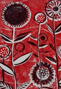 Rote Blumen 2